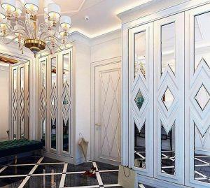 Двери с делителем наклейкой Казань