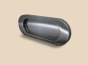 Ручка серебро глянец овальная Италия Казань