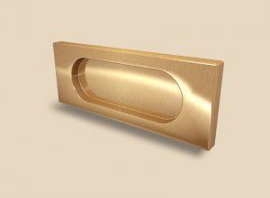 Ручка Золото глянец прямоугольная Италия Казань