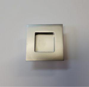 Ручка квадратная Серебро матовое Казань