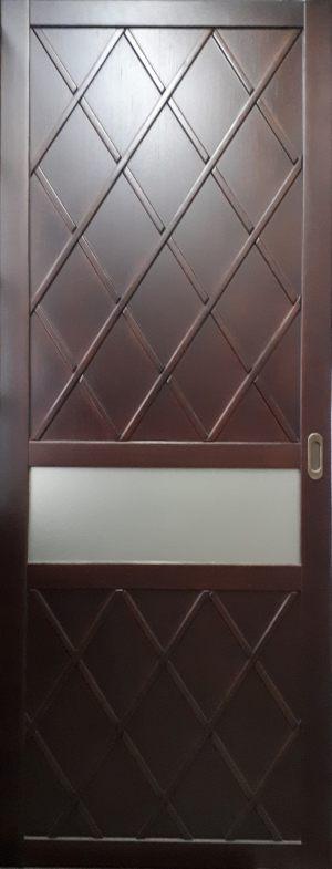 Вставка в дверь с фигурной филенкой Казань
