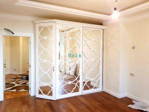 Двери с фигурной филенкой, эмаль Казань